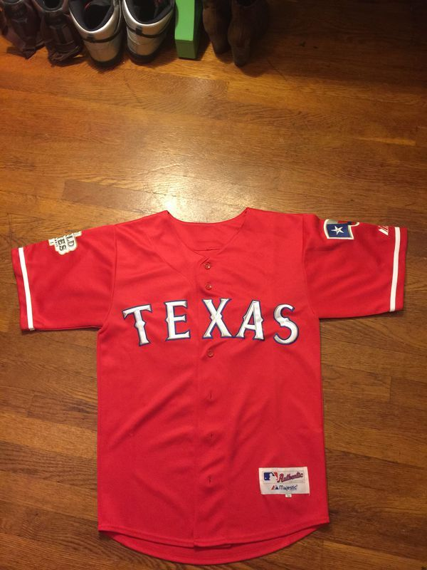"""low priced 3fe87 7349d Texas Rangers Official Jersey """"Josh Hamilton"""" 