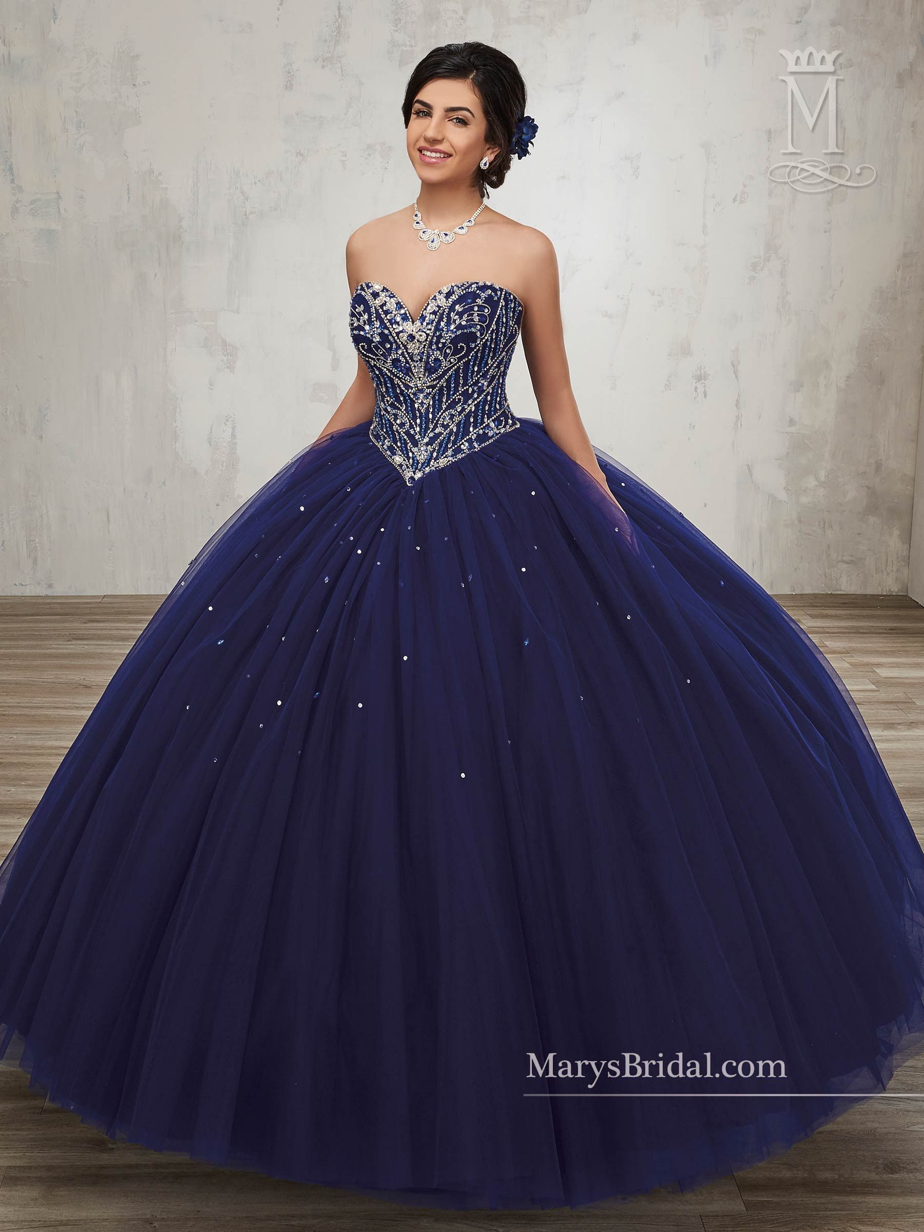 ee076e5fe7 Strapless A-line Quinceanera Dress by Mary s Bridal Beloving 4814   quinceaneradresses