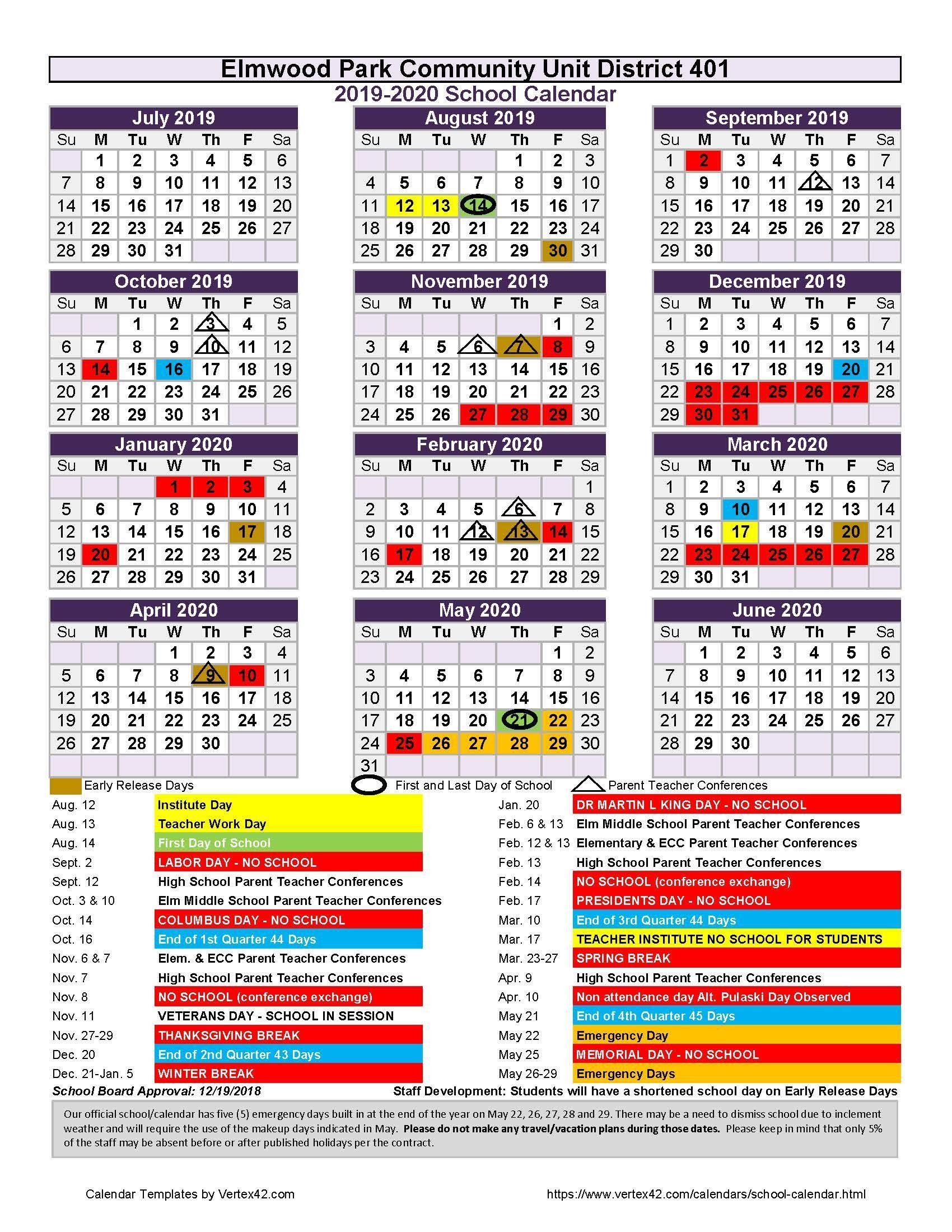 Pin By Leonard Cabrera On Xls Sample School Calendar 2019
