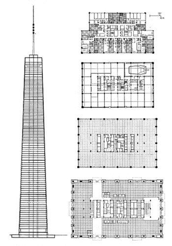 Details about  /HO SCALE SKYSCRAPER BASED OFF THE JOHN HANCOCK CENTER CHICAGO
