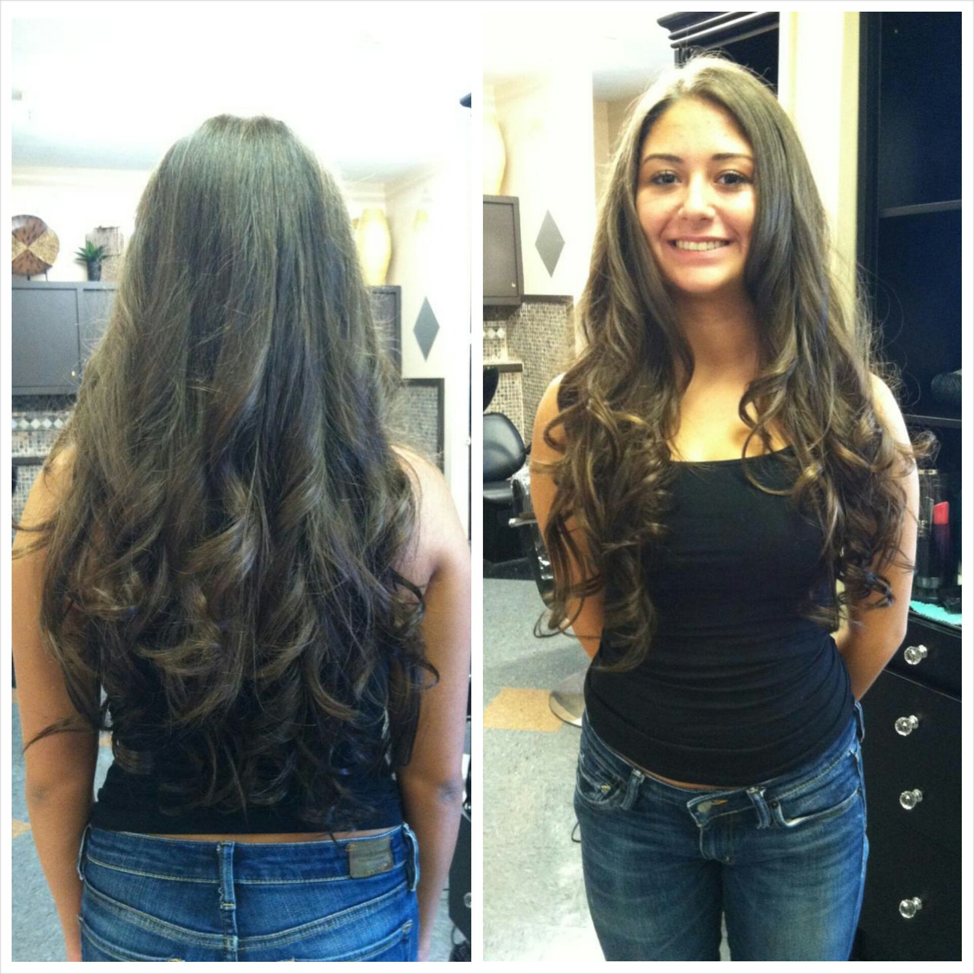 22in hair extensions! work by lynne #hairtreats