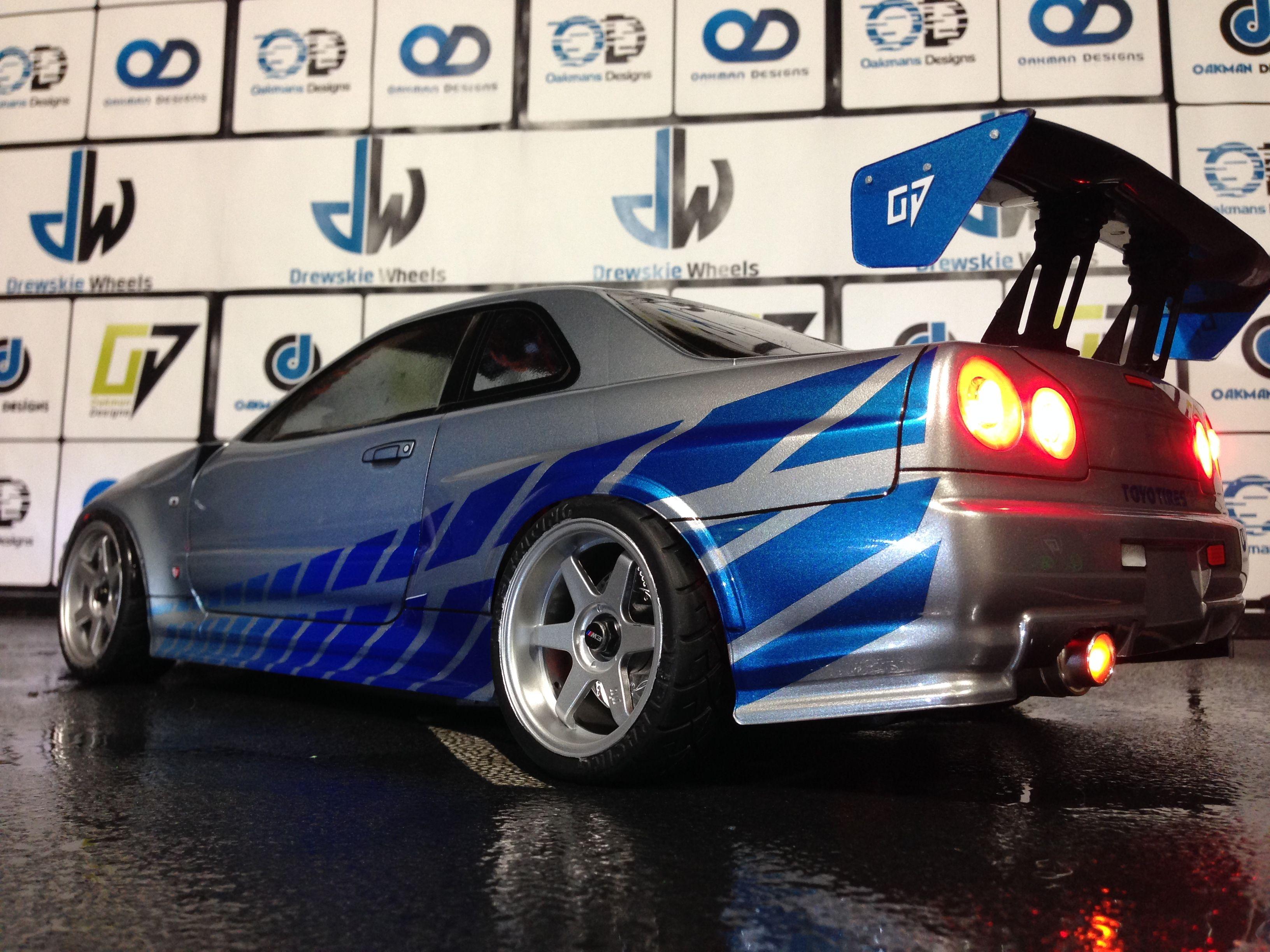 Oakman designs custom rtr sprint 2 drift nissan datsun 280zx 480 plus 19 shipping in