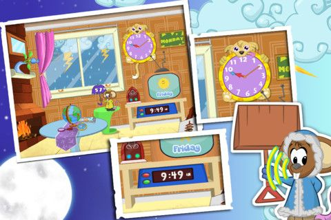 Weather and Clock for Kids (0.99) A funny speaking mouse