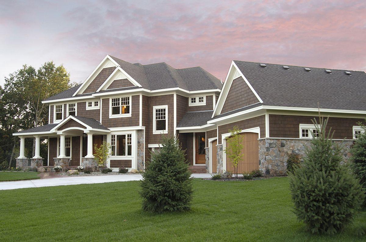 Plan 14419rk Luxurious Craftsman Home Plan Craftsman House Plans Craftsman House Craftsman Style House Plans