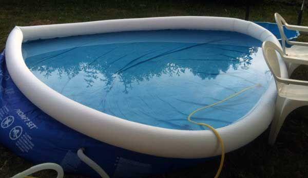 ne jamais jamais installer sa piscine autoport e sur un terrain en pente jardin. Black Bedroom Furniture Sets. Home Design Ideas