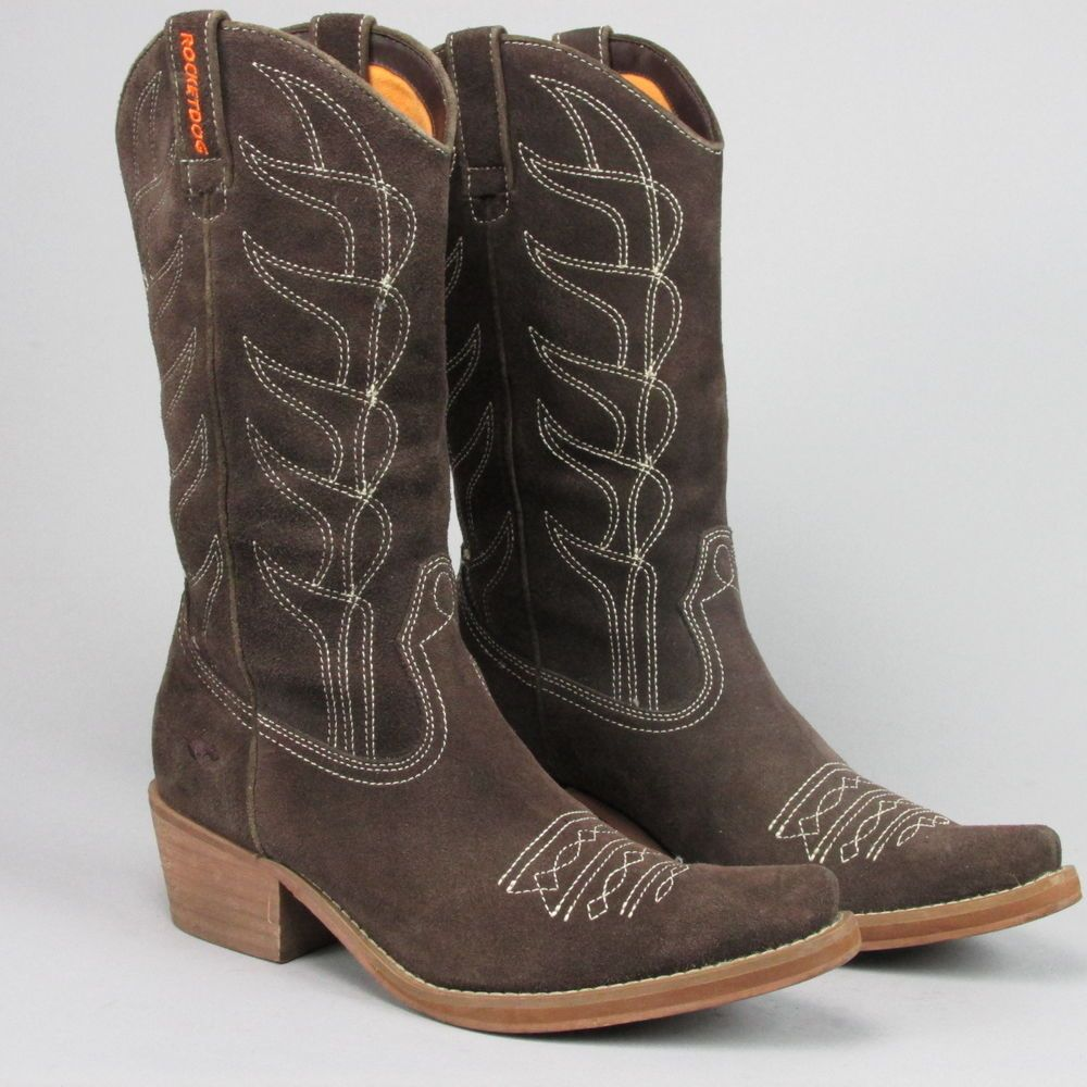 9d02e9ac65e Details about Rocket Dog Women's Soundoff Fashion Western Boots ...