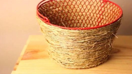 Diy Pottery Barn Basket Only 2 From Dollar Tree Products