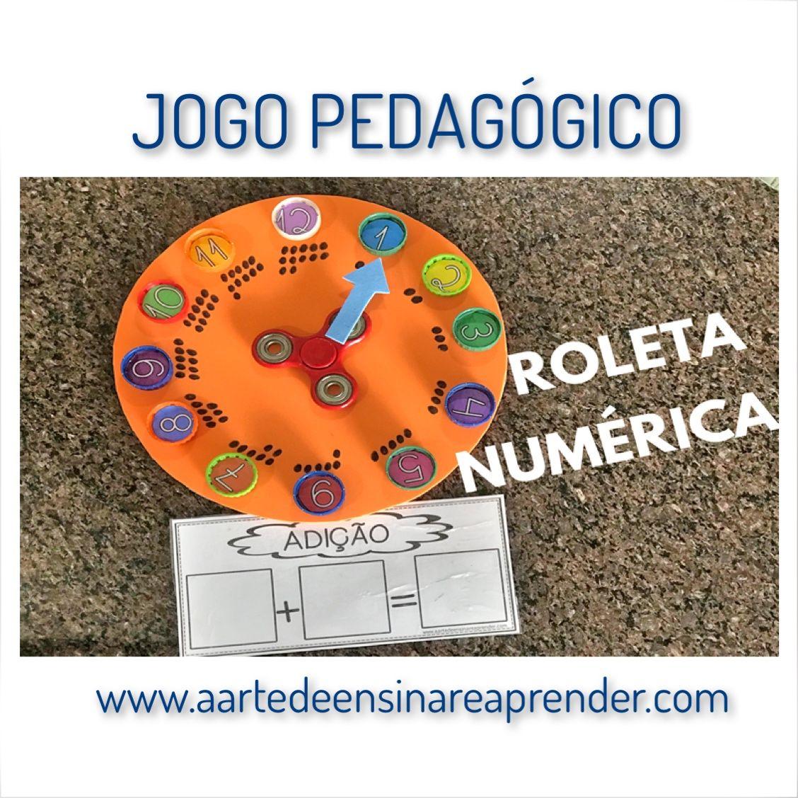Roleta Numerica Jogos Matematicos Educacao Infantil Projeto Educacao Infantil Jogos Educacao Infantil