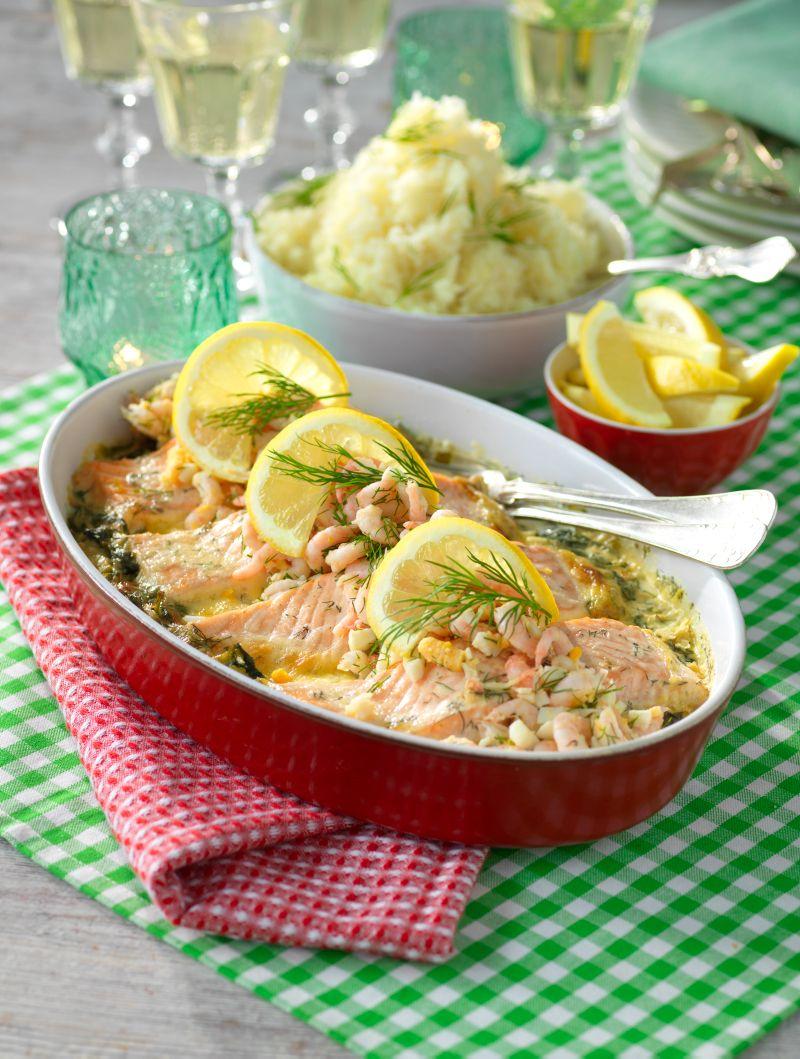 Lax, räkor, ägg och dill vad kan bli godare? Ett recept som passar perfekt som bjudmat!