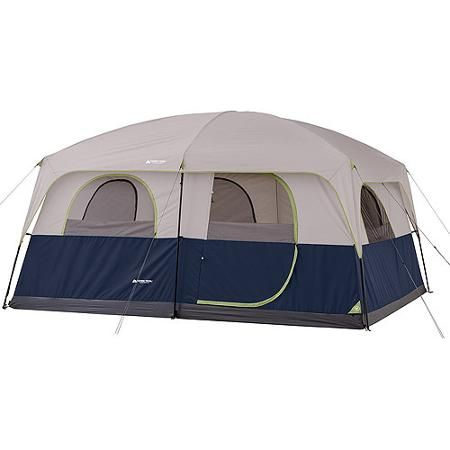 Ozark Trail 14 X 10 Family Cabin Tent Sleeps 10 Walmart Com 10 Person Tent Family Tent Camping Hiking Tent
