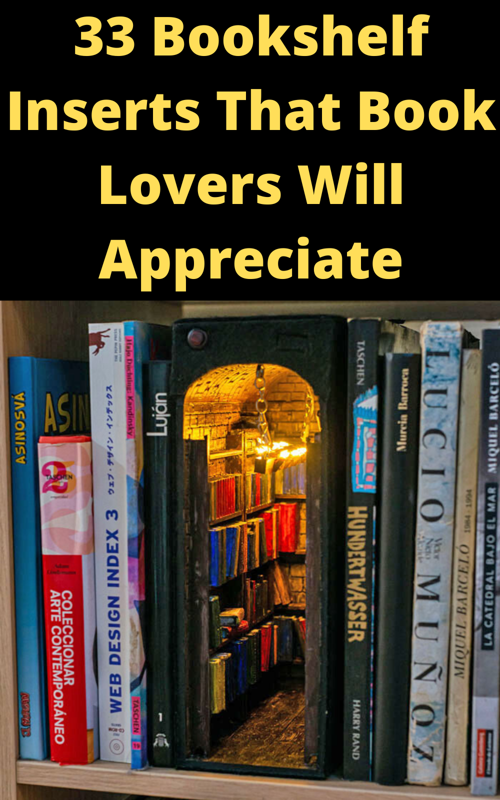 33 Bookshelf Inserts That Book Lovers Will Appreciate