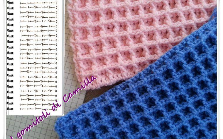 Punto Crochet All Uncinetto.Come Si Lavora Il Punto Waffle All Uncinetto Crochet For Dummies