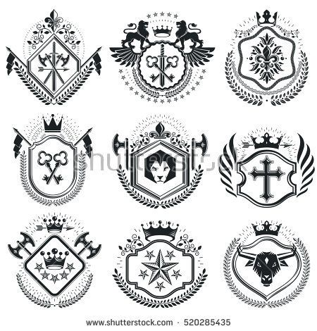 Coat Of Arms Template Personal Coat Of Arms Template Personal Coat
