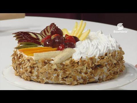 Samira Tv كعكة بالفواكه 2 محي الدين عماد Tarte Aux Fruits Food Breakfast Youtube