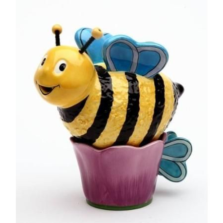 Fine Porcelain Happy Bee Collectible - Bee Tea for One