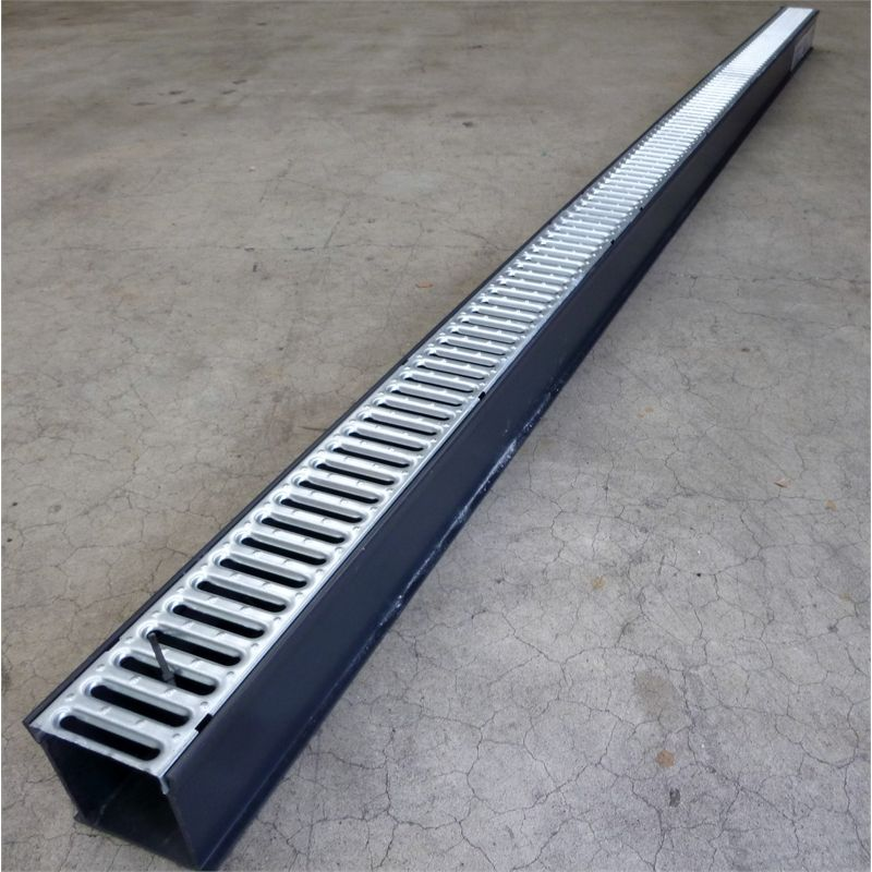 Channel grate surface drainage at bunnings warehouse new for Surface drainage solutions