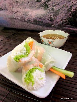 No-Frills Recipes: Vietnamese Rolls