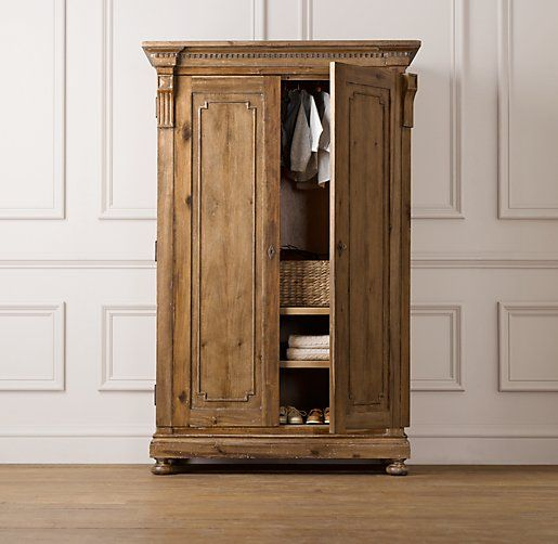 Jameson Armoire Restoration Hardware For Ashmol