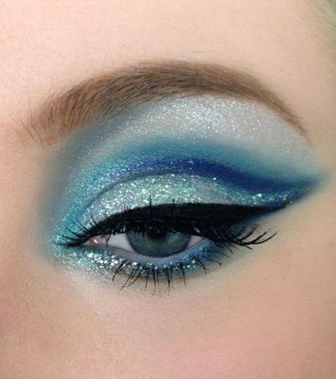 Augen Make Up Schritt für Schritt – so schminken Sie Ihre Augen größer,  #Augen #für #größer …