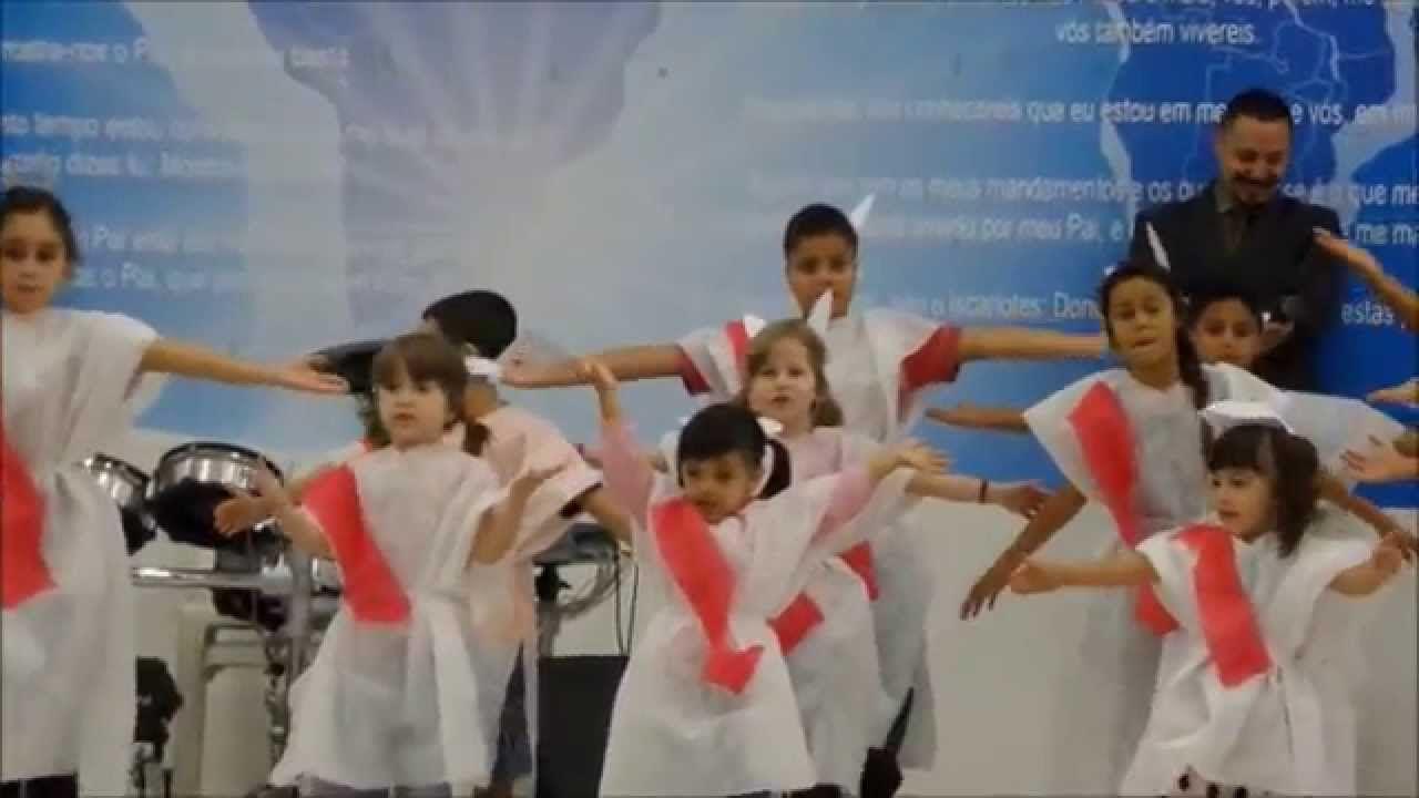 608c6d3849 Apresentação de Pascoa do Ministério Infantil na IIGD na Sede RS ...