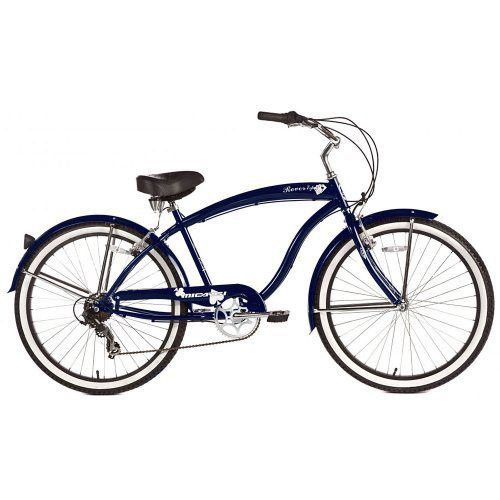 Micargi Tahiti Nx3 Beach Cruiser Bike Baby Blue 26 Inch Beach