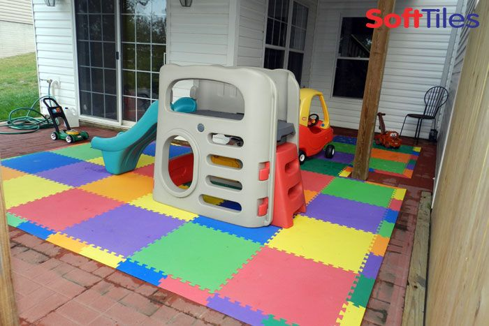 Play Mat Using Softtiles Foam