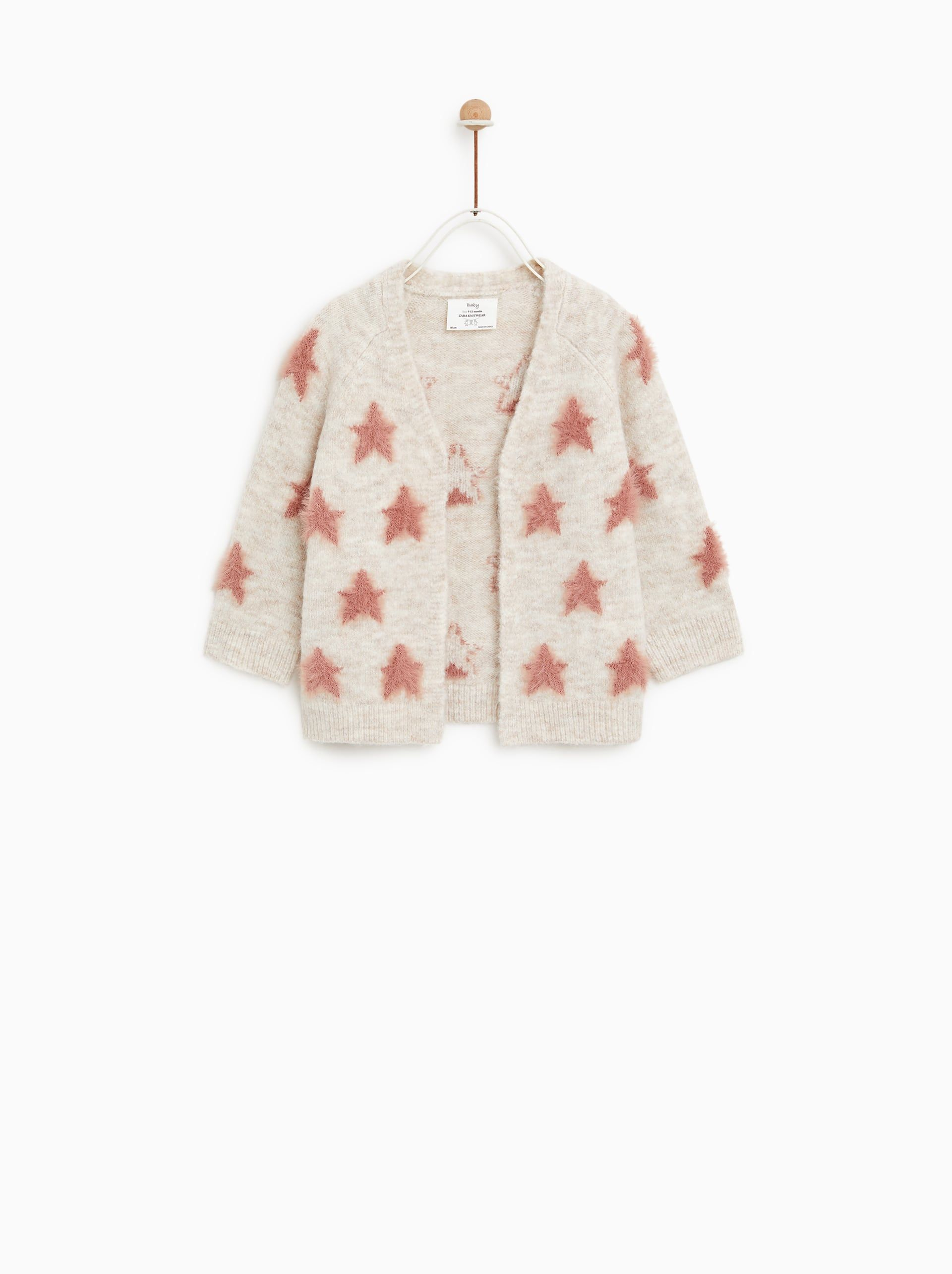 Ongekend Star print cardigan | Toddler girl outfits TH-41