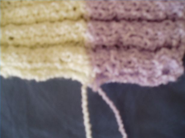 Knitting: How to change/add colors/yarn.