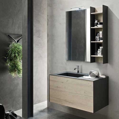 Arredo Bagno Fissore Moncalieri.Ardeco Composizione Easy 03 Sospeso In Vendita Su Fissore Com Bathroom Inspiration Home Interior Design Bathroom Mirror