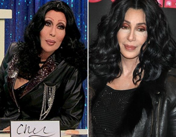 84bc61cc Who wore it better: Chad Michaels of RuPaul's Drag Race or Cher ...
