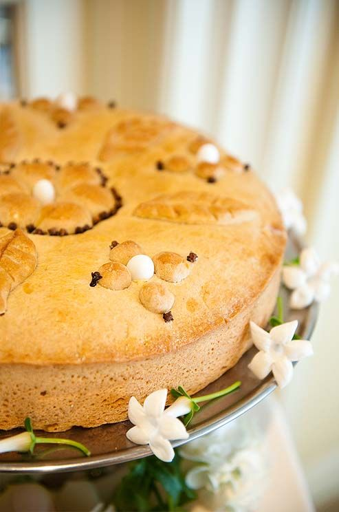 A spongy, flourless cake flavored with fruits and almonds is the ...
