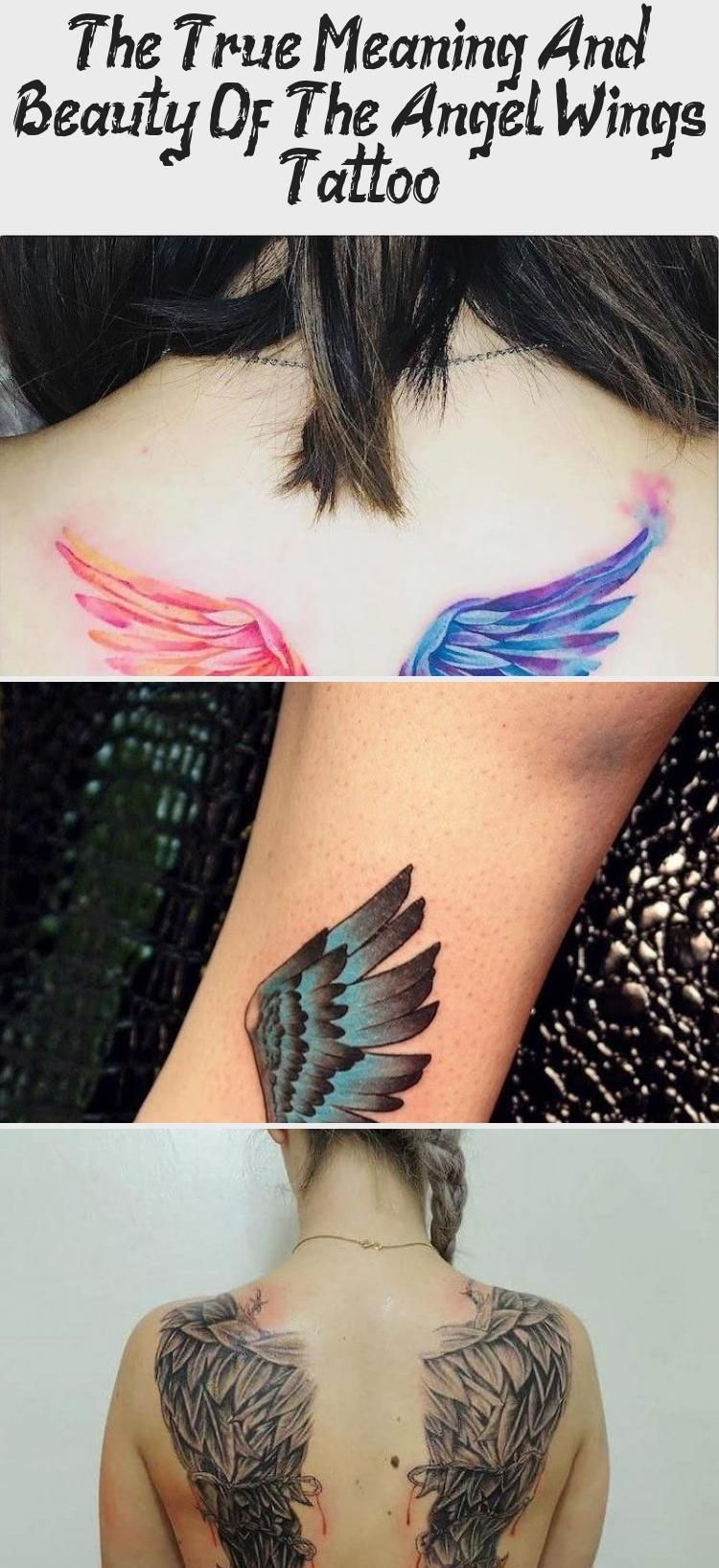 Angel Wings Tattoo Hand Tattoo Rose Woman With Grey Top Black Tights Wooden Floor Lavieenrosetattoo In 2020 Wings Tattoo Wings Tattoo Meaning Heart With Wings Tattoo