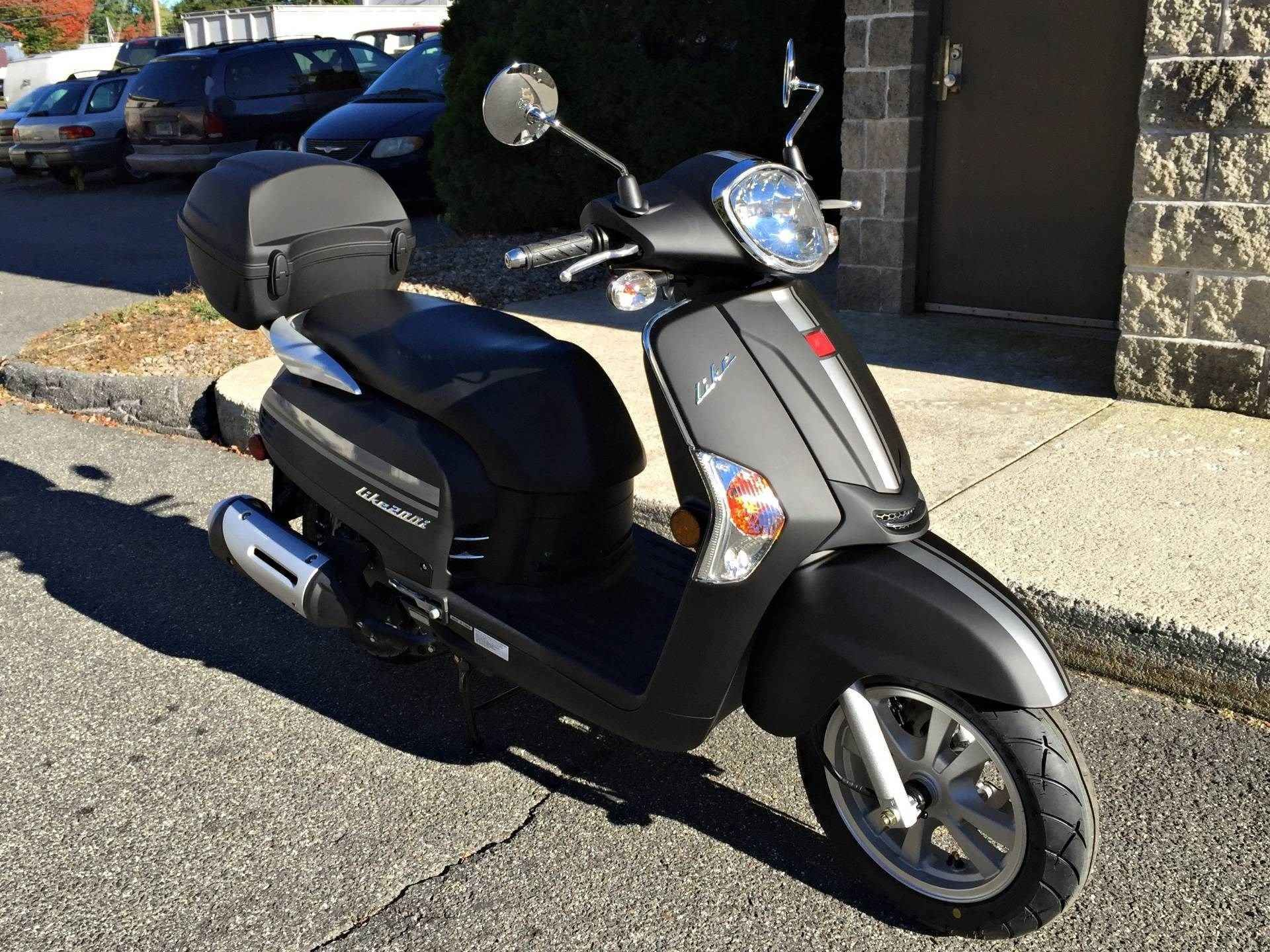 2017 Kymco Like 200i In Black Scooter Bike Motorsport Black