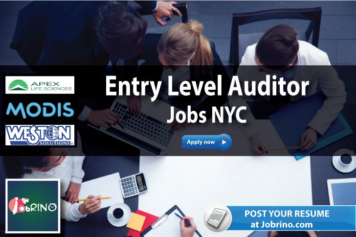 Search 2356 EntryLevel Auditor Jobs NYC USA On Jobrino Check Out The Companies Hiring Now Post Your Resume For Qa