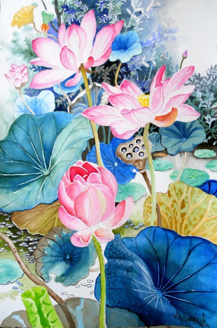 Buy Stunning Still Life Paintings Online At Indian Art Ideas Lotus