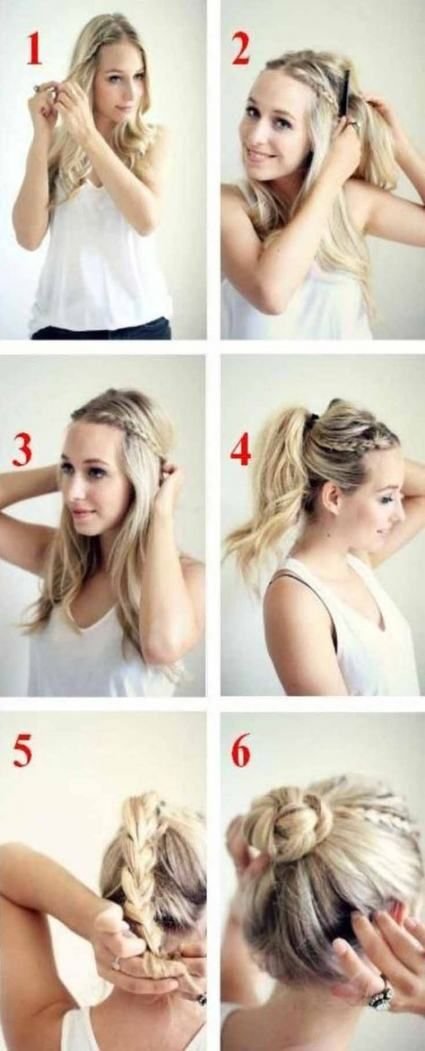 Hairstyles Easy Quick Updo 46 Ideas images
