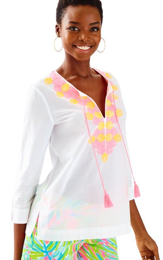 693ae0b927f242 Amelia Island Tunic: NOW $54 | Lilly Pulitzer: After Party Sale ...