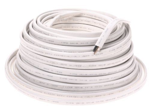 Cerro Wire 147-1802C 100-Foot 2-Conductor 10-AWG NMB Romex Wire by ...