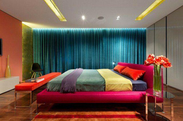 Chambre à coucher design : 10 idées pour s\'inspirer   Couleurs ...