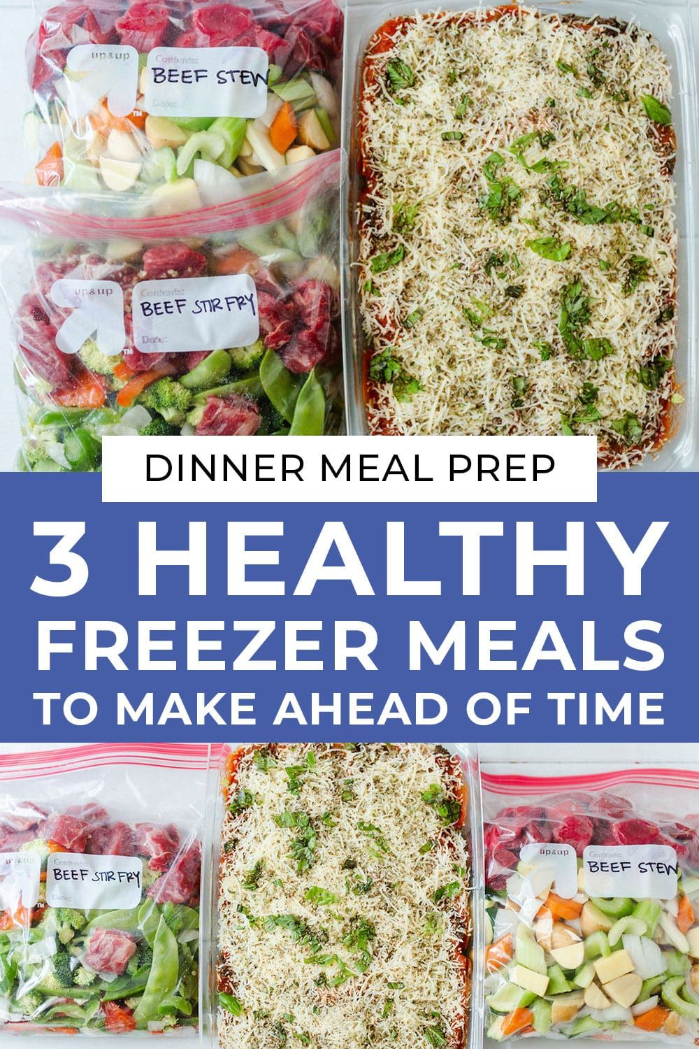 Easy Freezer Meals 3 Dinners To Stock Your Freezer Nourish Move Love Recipe Easy Freezer Meals Healthy Freezer Meals Freezer Meals