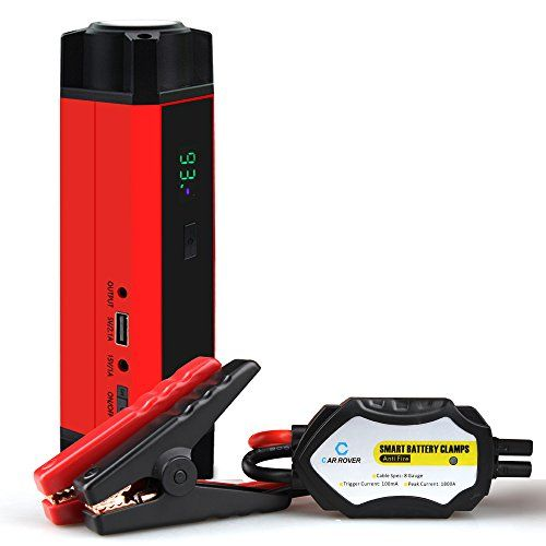 Car Rover 1000a Peak Portable Car Jump Starter Phone Power Bank Auto Battery Pack Booster Charger You Can Car Rover Car Battery Hacks Automotive Solutions
