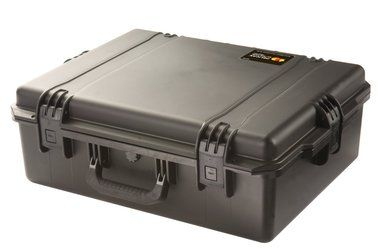 The Pelican iM2700 Storm Case without Foam (Black) is an injection-molded case made of HPX high performance resin, that is virtually unbreakable, dent-resistant and shatter-resistant. It is tough, rugged, lightweight, airtight and watertight. There is a permanently attached Vortex valve that automatically adjusts air pressure without letting in water, and won't unscrew from the case.