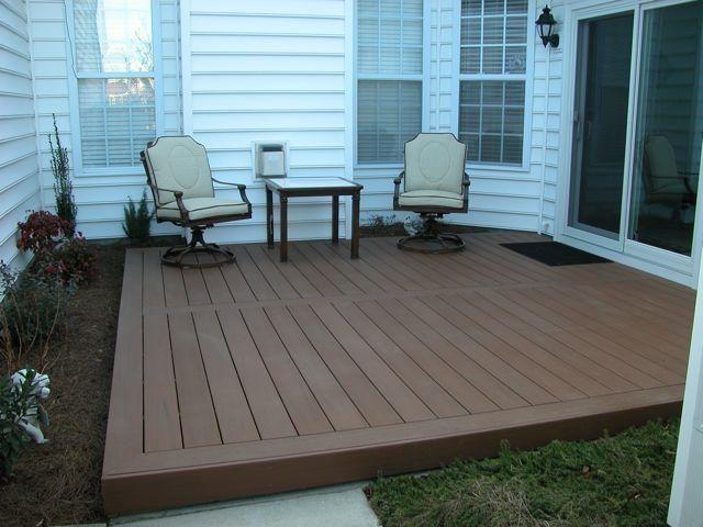 simple low deck