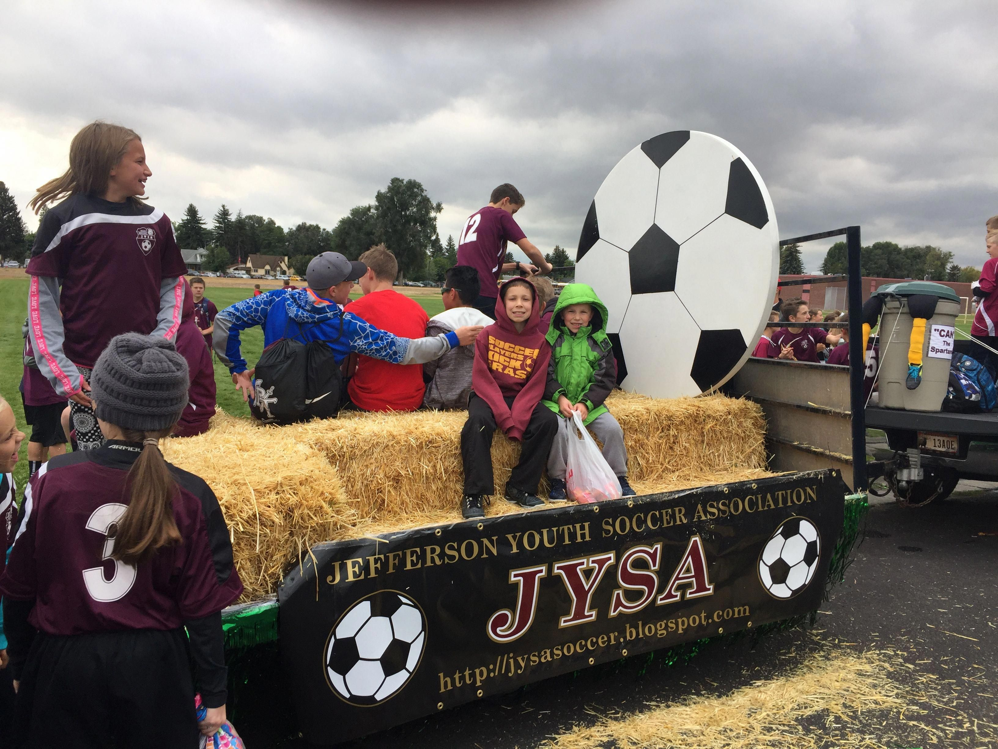Soccer Float With Painted Table Funkyfurniture