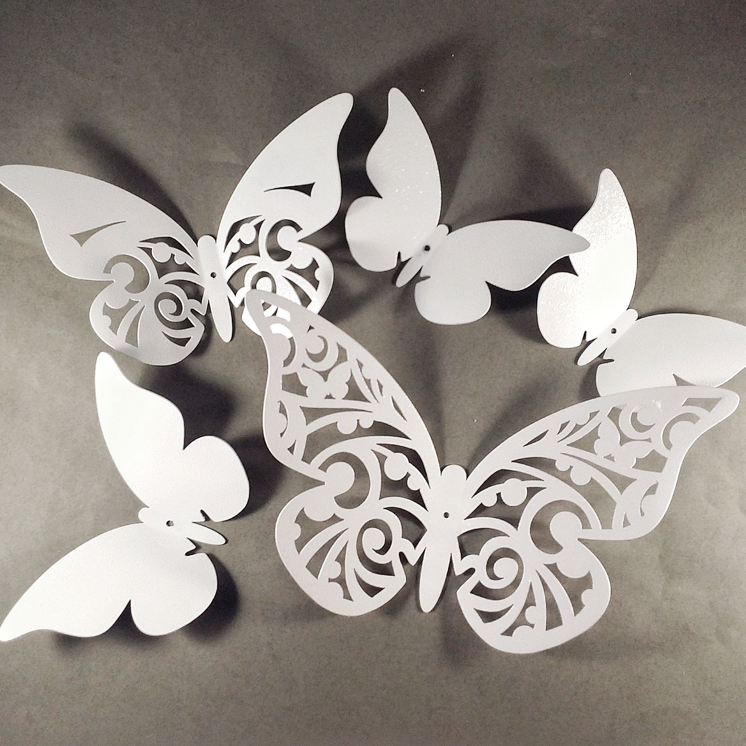 3d Butterflies Metal Decormetal Butterflieswall Sculpture Etsy In 2020 Butterfly Wall Decor Butterfly Wall Wall Sculptures