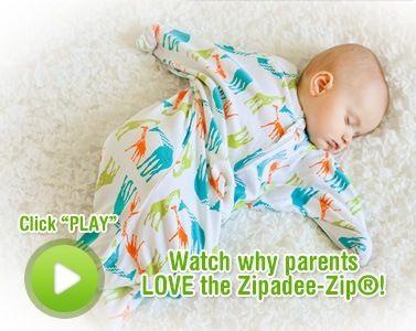 Zipadeezip Sleep Sack Wearable Blanket As Seen On