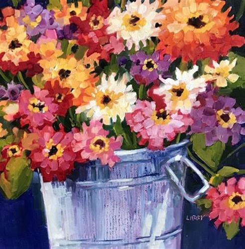 """Daily+Paintworks+-+""""Second+Nature""""+-+Original+Fine+Art+for+Sale+-+©+Libby+Anderson"""