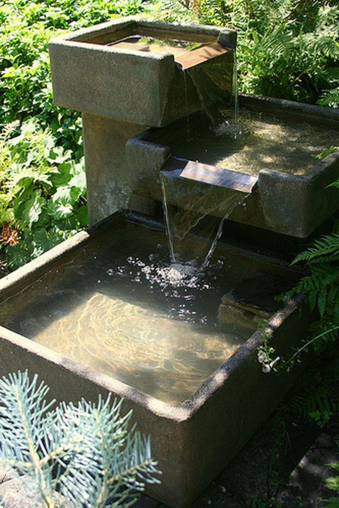 40 Zen Water Fountain Ideas For Garden Landscaping Solar