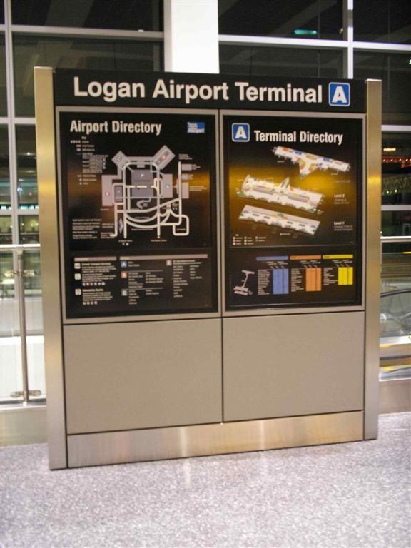Terminal A, Logan International Airport...