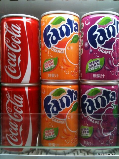 mini coca cola 150ml cans uk and fanta orange and grape 160ml cans japan japanese drinks. Black Bedroom Furniture Sets. Home Design Ideas